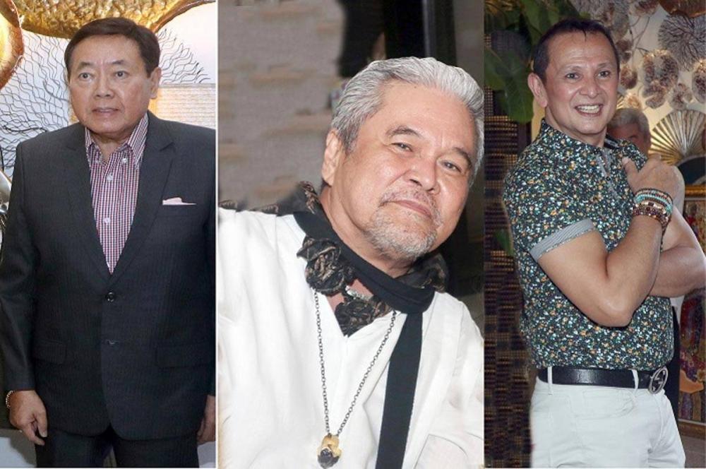 Ambassador Victor Garcia, Luis 'Cocoy' Cordoba and John Gaddi