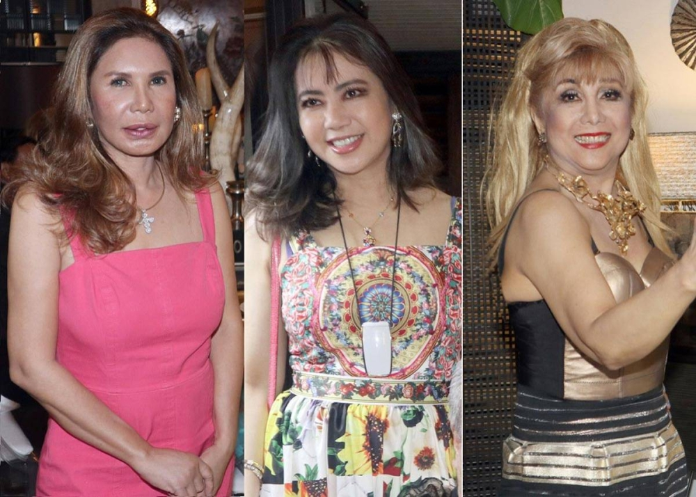 Manette Agbayani, Agile Zamora and Connie Garcia