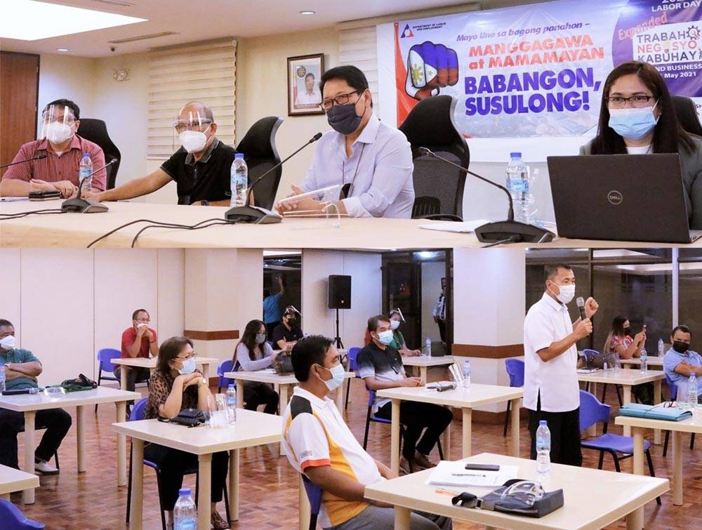 DOST officials led by Secretary Secretary Fortunato de la Peña have selected new locally invented technology for patenting and production.