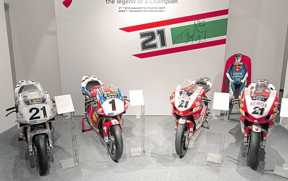 Ducati sets up Bayliss museum display