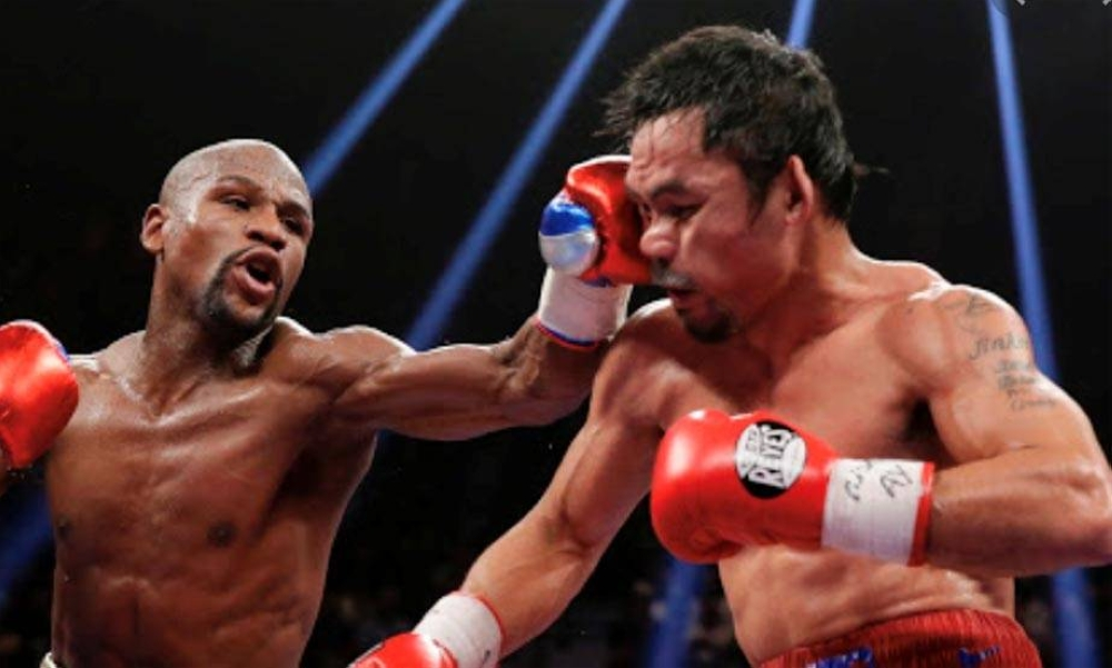 Pacquiao could have suffered 10,000 such blows in his boxing profession.