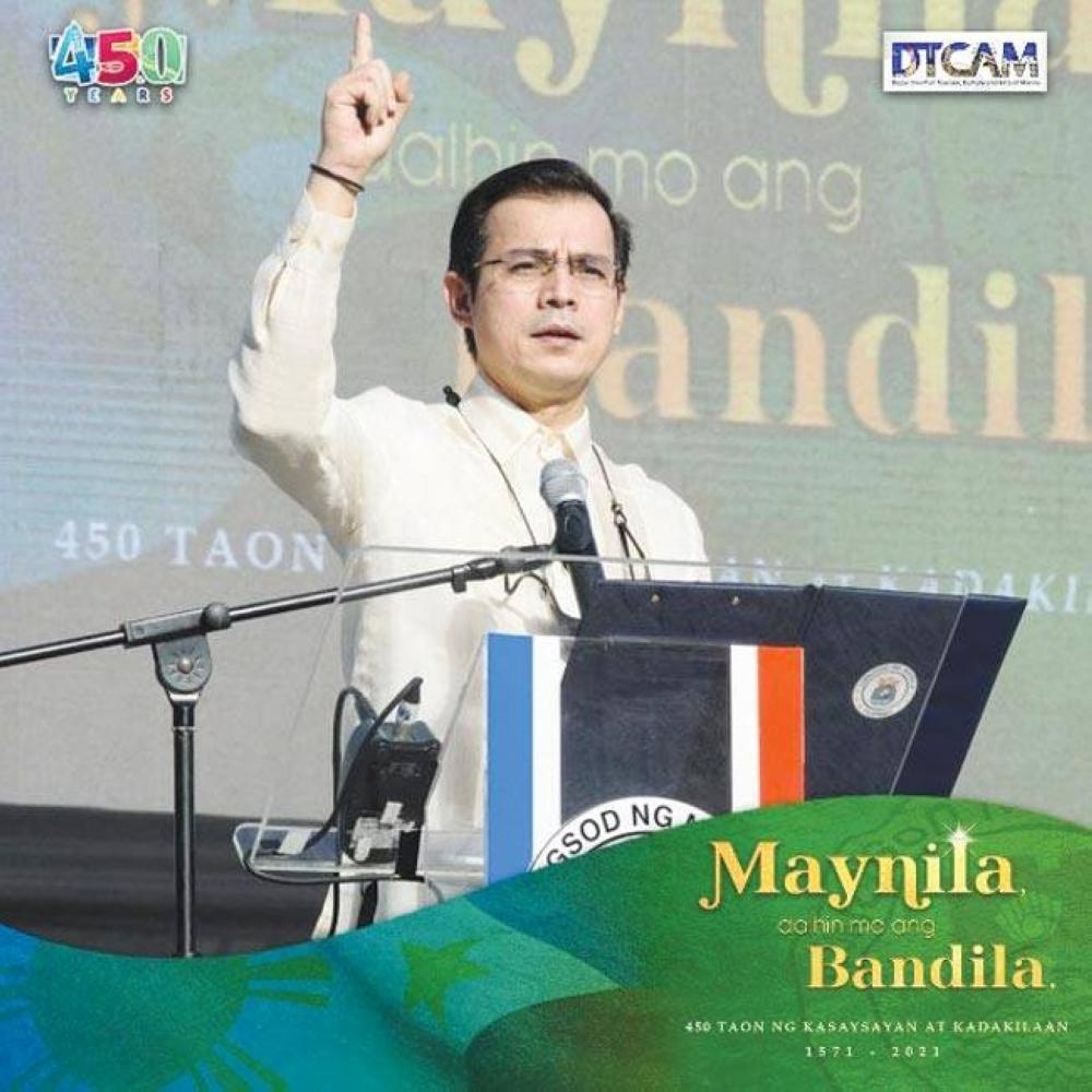 Mayor Francisco 'Isko Moreno' Domagoso PHOTO FROM MANILA.GOV.PH