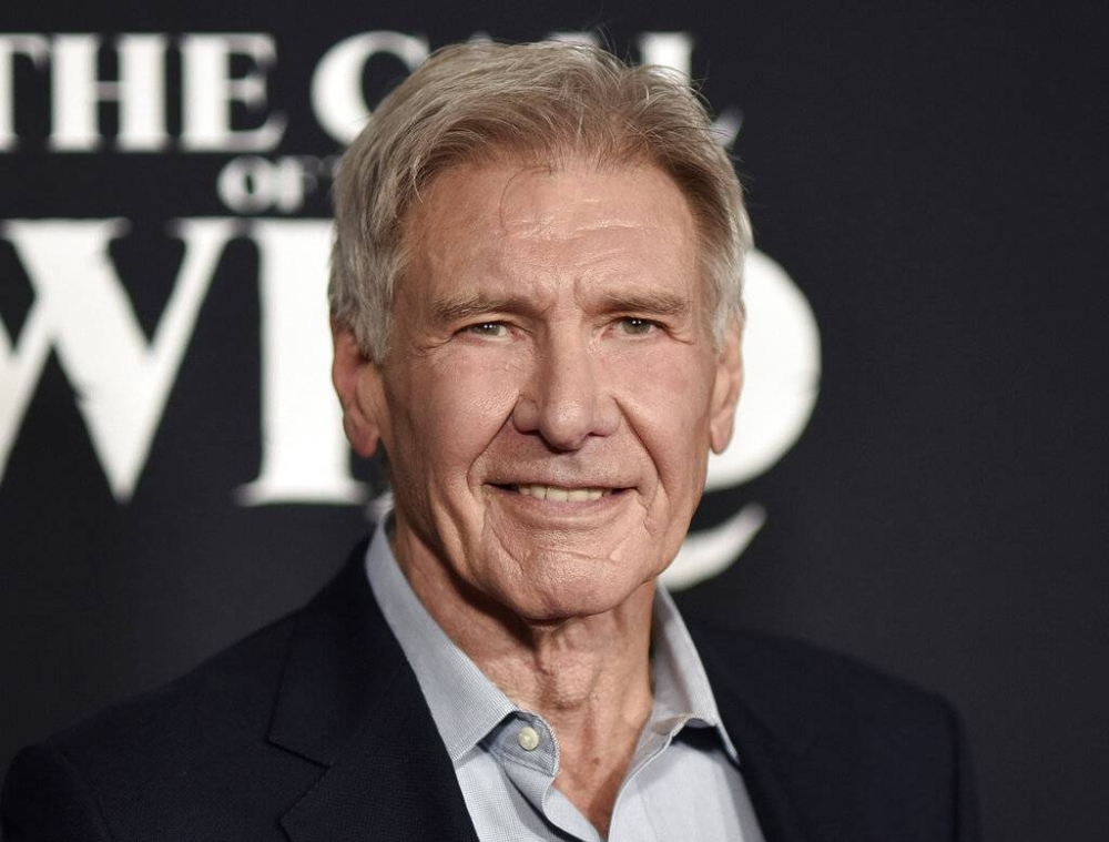 Harrison Ford attends the premiere of