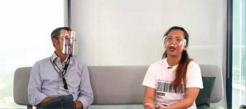 Ikea Store Manager for Southeast Asia Georg Platzer declares July 7, 2021 as Ikea Family Day with a little help from Angela Vicente, Loyalty Specialist  for Ikea Philippines, in a special virtual event.