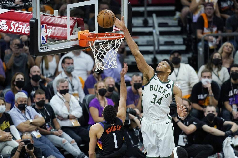 Despite loss, Antetokounmpo plays well in Game 1   The Manila Times