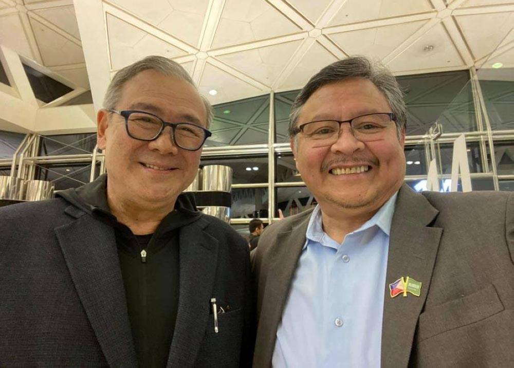 With Foreign Secretary Teodoro L. Locsin, Jr.