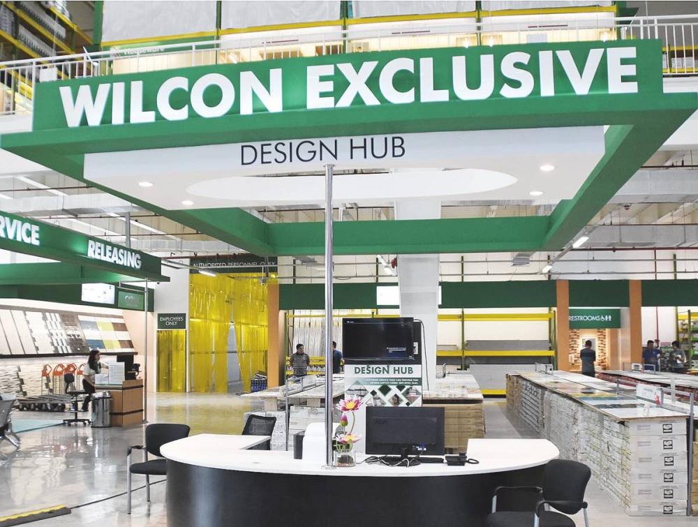 The Design Hub allows customers to create their own design through a three-dimensional layout.