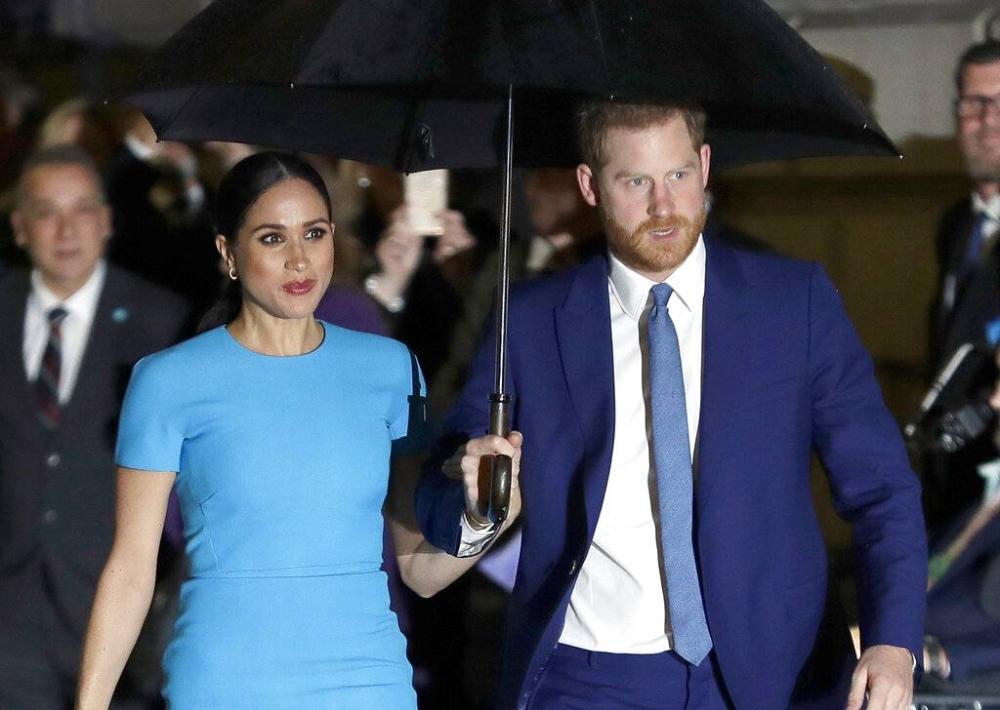 Meghan and Prince Harry AP PHOTO