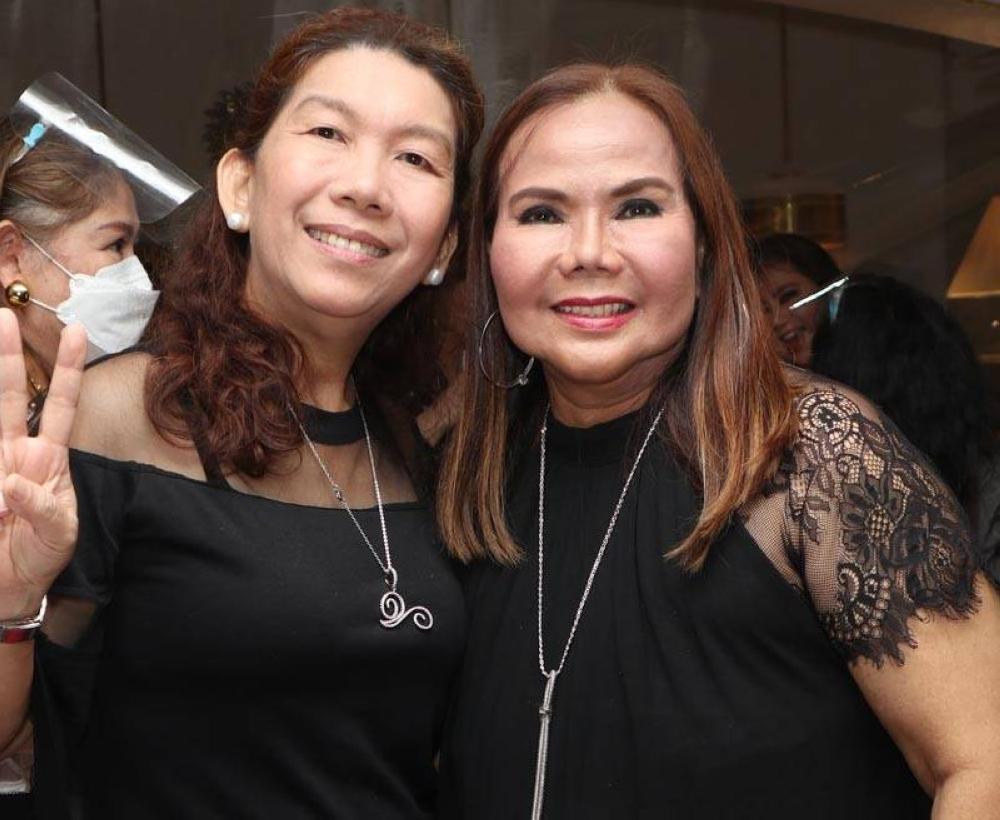 Jinky Rabano and Marissa Fenton