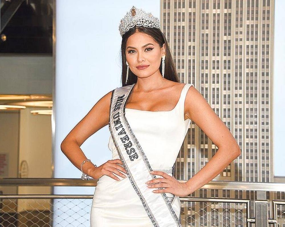 La mexicana Miss Universo Andrea Meza espera que la mayor cantidad posible de personas alrededor del mundo sean vacunadas para el momento de la competencia.  AP FOTO