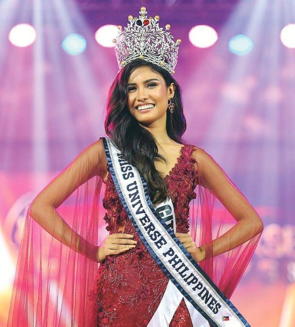 Después de que terminaran las semifinales del concurso de Miss Universo en mayo pasado, la filipina Rabia Mateo aún no ha coronado a su sucesora, quien luego competirá en Israel a finales de año.  Foto de Instagram