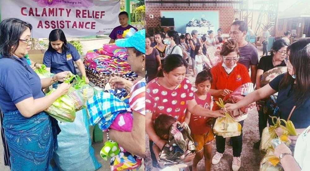 Just before the lockdowns, CFO employees initiated relief operations among affected communities of the Taal Volcano ashfall