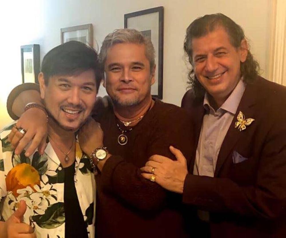 Jorge Hizon, Cocoy Cordoba and Dr. George Sarakinis