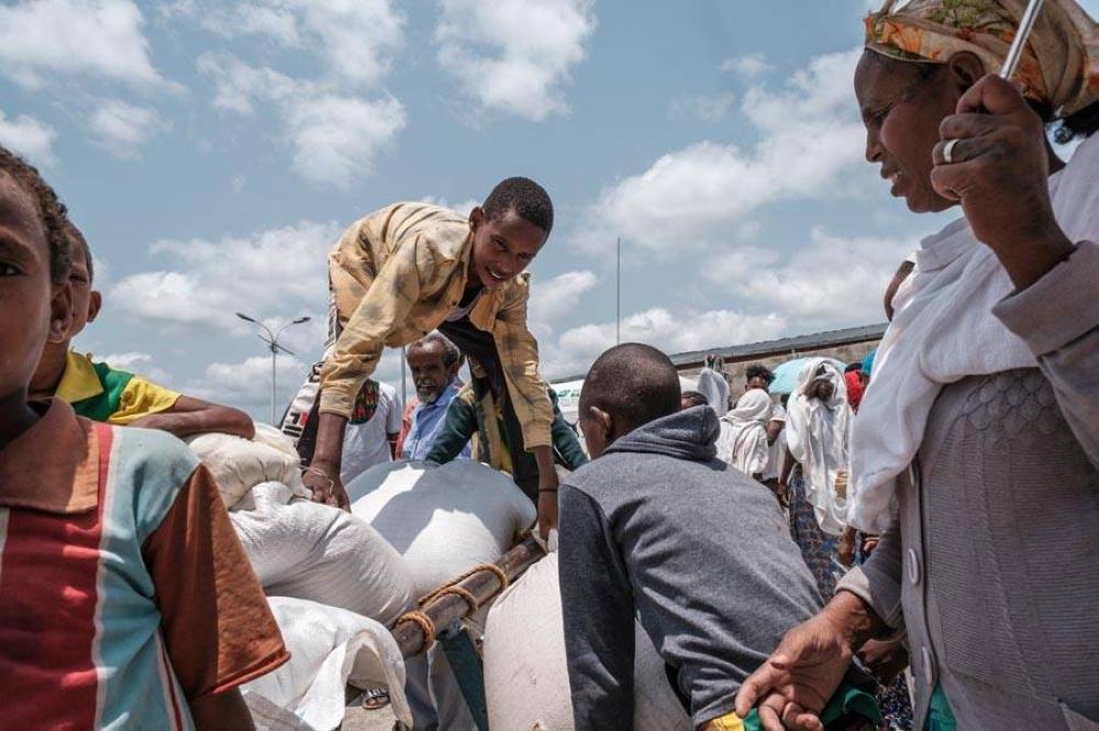 Ethiopian corpses float in Sudan river