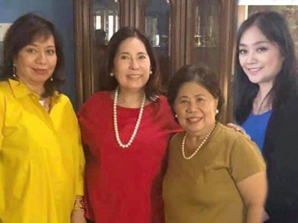 Joanne Matschuck, Baby Ortiz, Frieda Hizon and Choy Bernardo