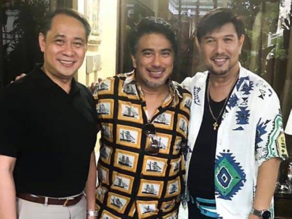 Al Bernardo, Dave Mungcal and Jorge Hizon