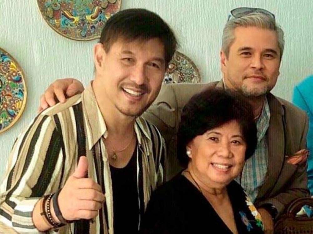 Jorge and Frieda Hizon with Cocoy Cordoba