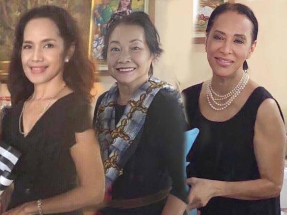 Lalie Tolentino, Chita Wilcox and Leah Miranda