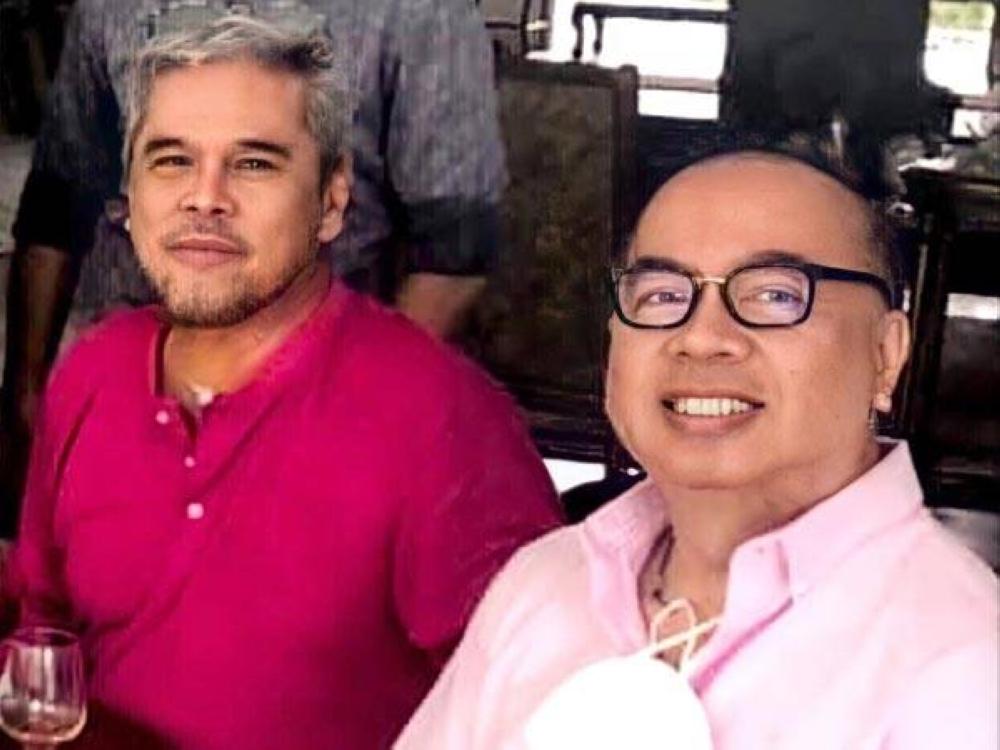 Cocoy Cordoba and Robert Castaneda