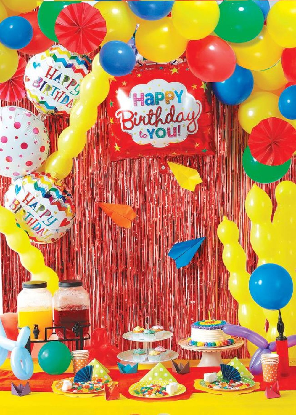 Throw an Artsy -Crafty Birthday Party for your budding little artist.