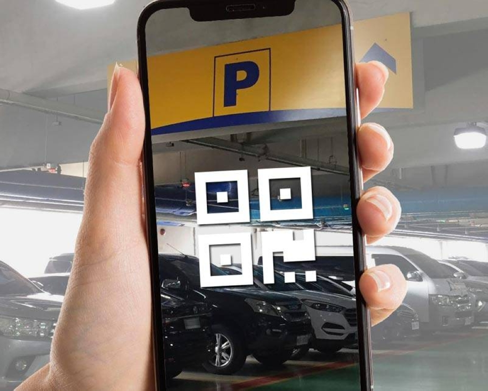 SM Supermalls makes payment for parking fees safer and easier with GCash, GrabPay and PayMaya QR. CONTRIBUTED PHOTO