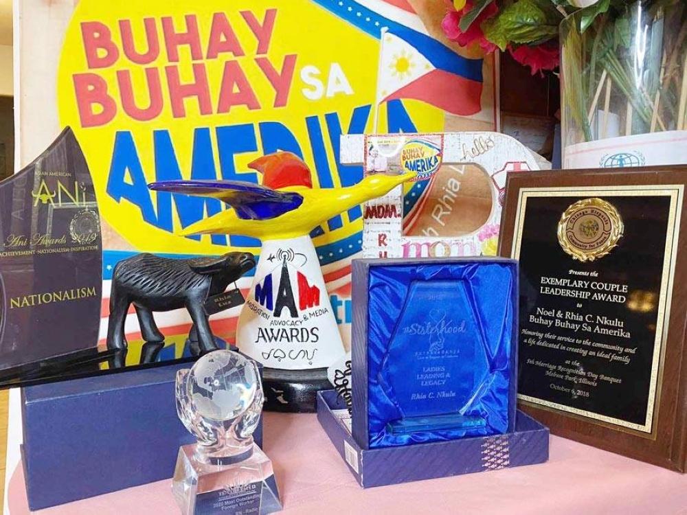 The awards and citations received by Buhay-buhay sa Amerika in its 4-year run