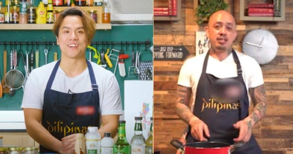 Filipino and Hong Kong chefs join the launch of 'Philippine Flavours.'