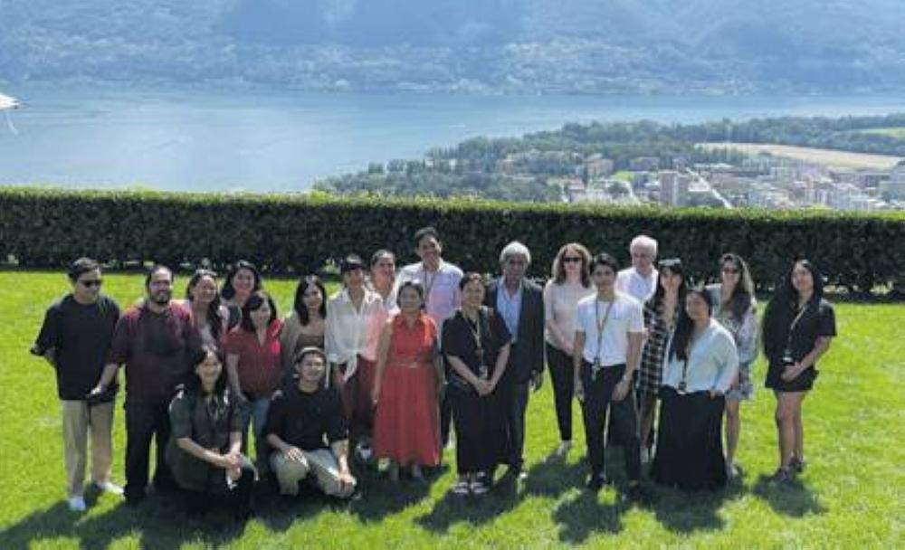 Tại bữa trưa của phái đoàn Philippines tại Locarno, Thụy Sĩ do Đại sứ quán Philippines tại Bern và Hội đồng phát triển điện ảnh Philippines tổ chức