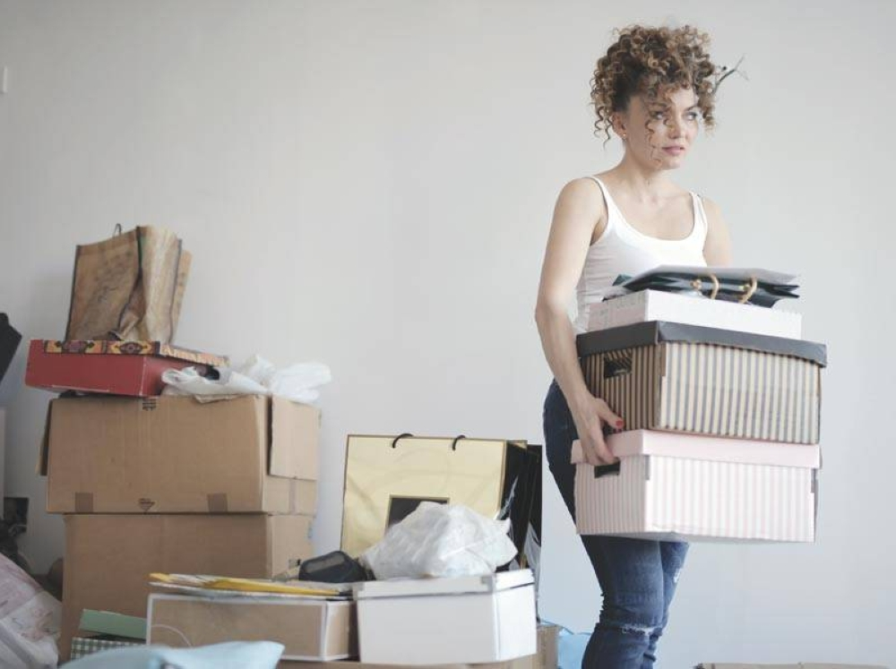 Decluttering gives a new sense of being in charge.
