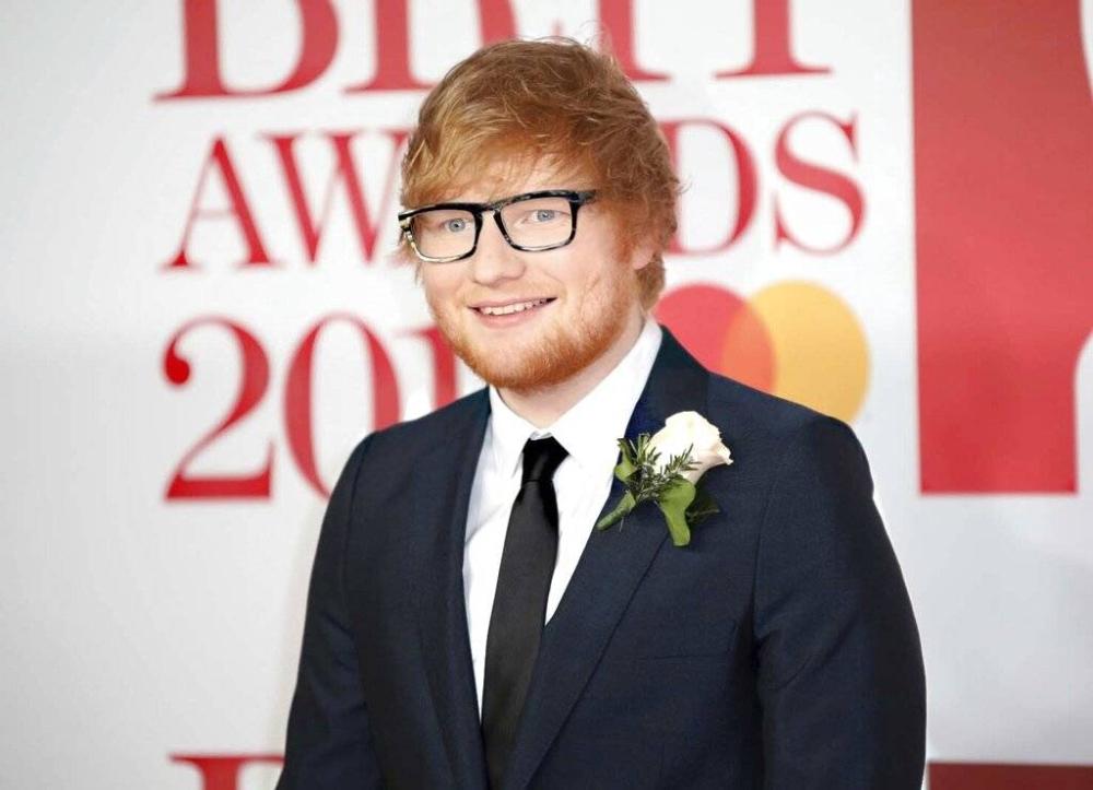 Ed Sheeran AP LARAWAN