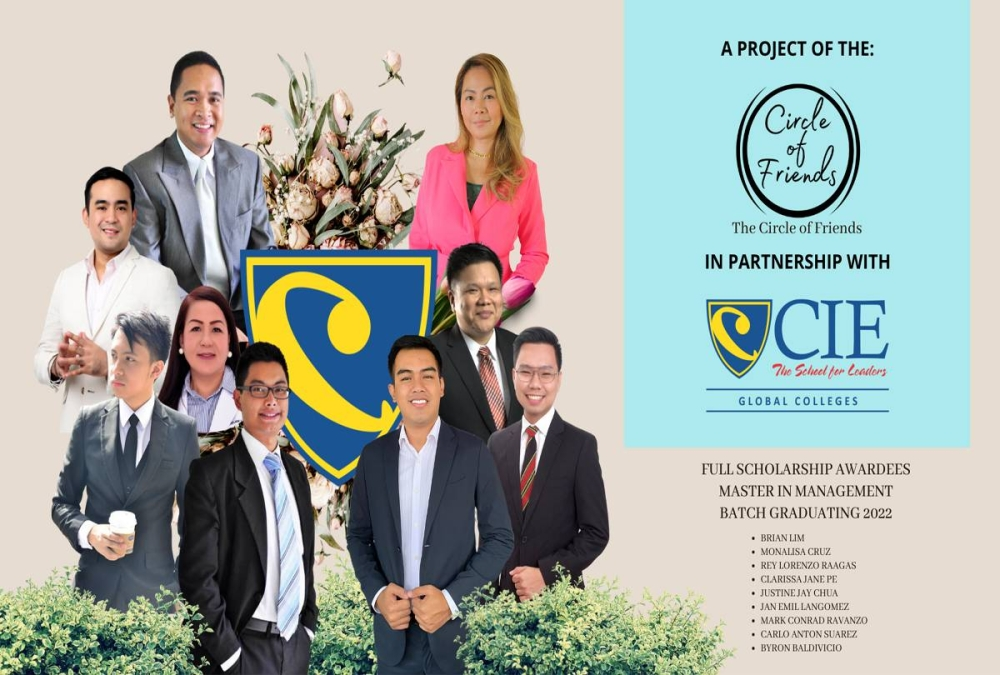 The Tunay na Iskolar ng Bayan project allows the student to finish a bachelor's degree in business, information and communications, or a master's degree in management for free.