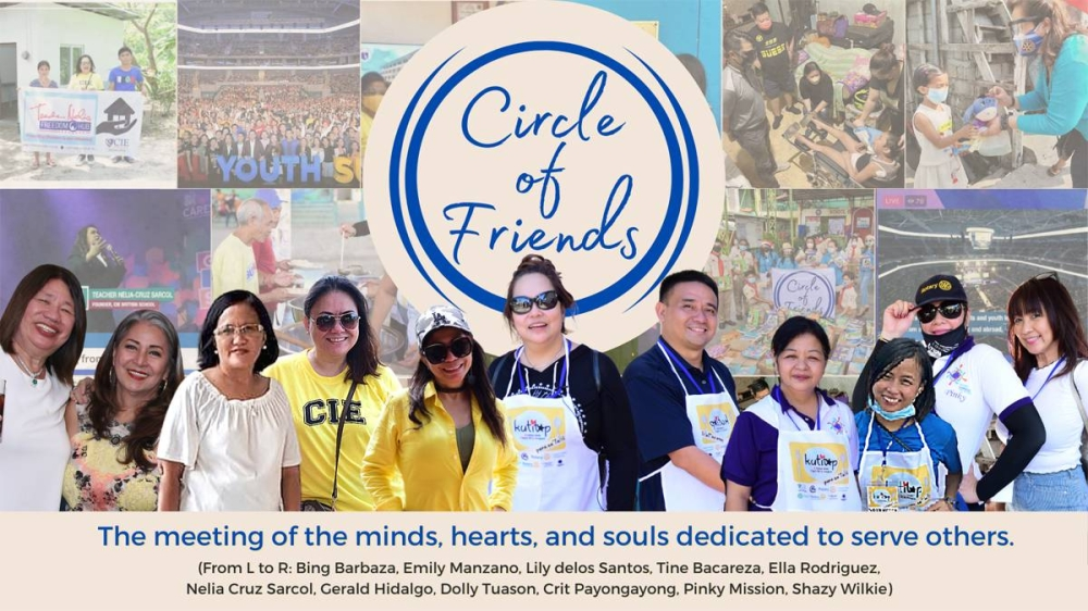 The Circle of Friends' main advocacy is education.