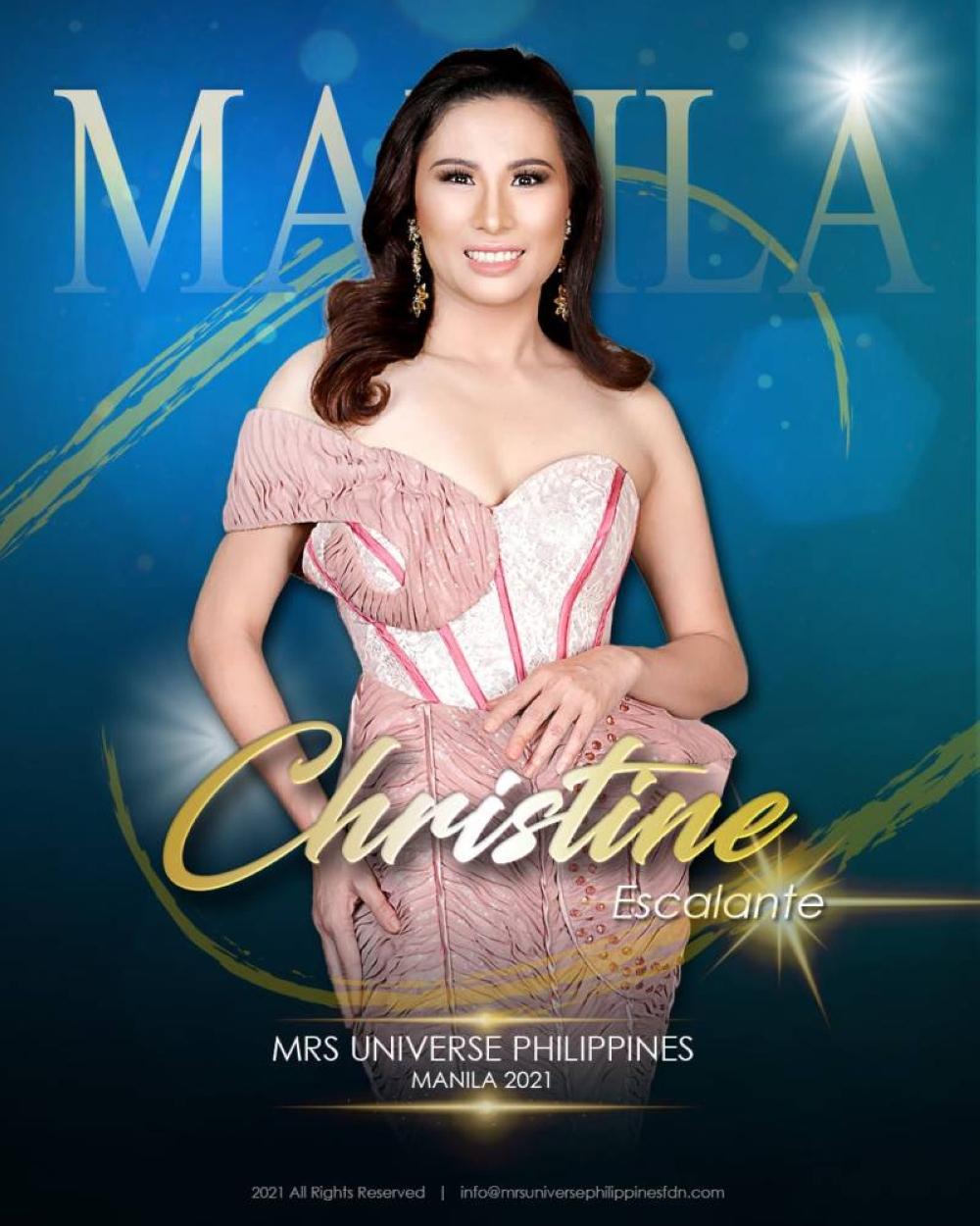 Christine Escalante, Gng. Universe Philippines Manila 2021