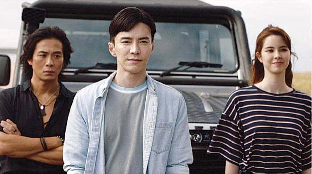 Pamilyar sa mga mukha ng C-Drama: Qi Yuwu, Lawrence Wong at Kate Kinney.