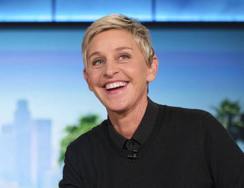Ellen DeGeneres AP LARAWAN