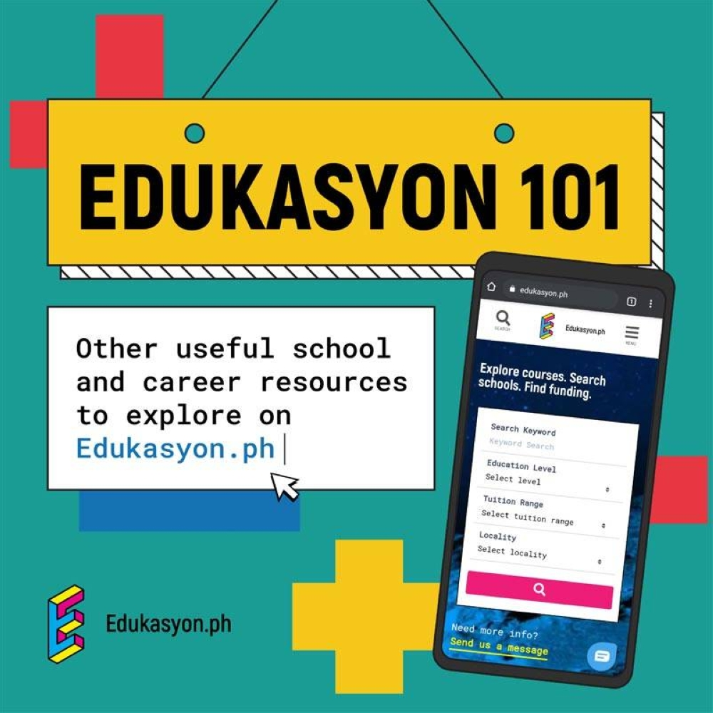 Digital skilling and upskilling are endeavors where Edukasyon.ph and Microsoft can further expand their partnership to open up more opportunities for Filipinos to develop 21st century skills. IMAGE FROM EDUKASYON.PH