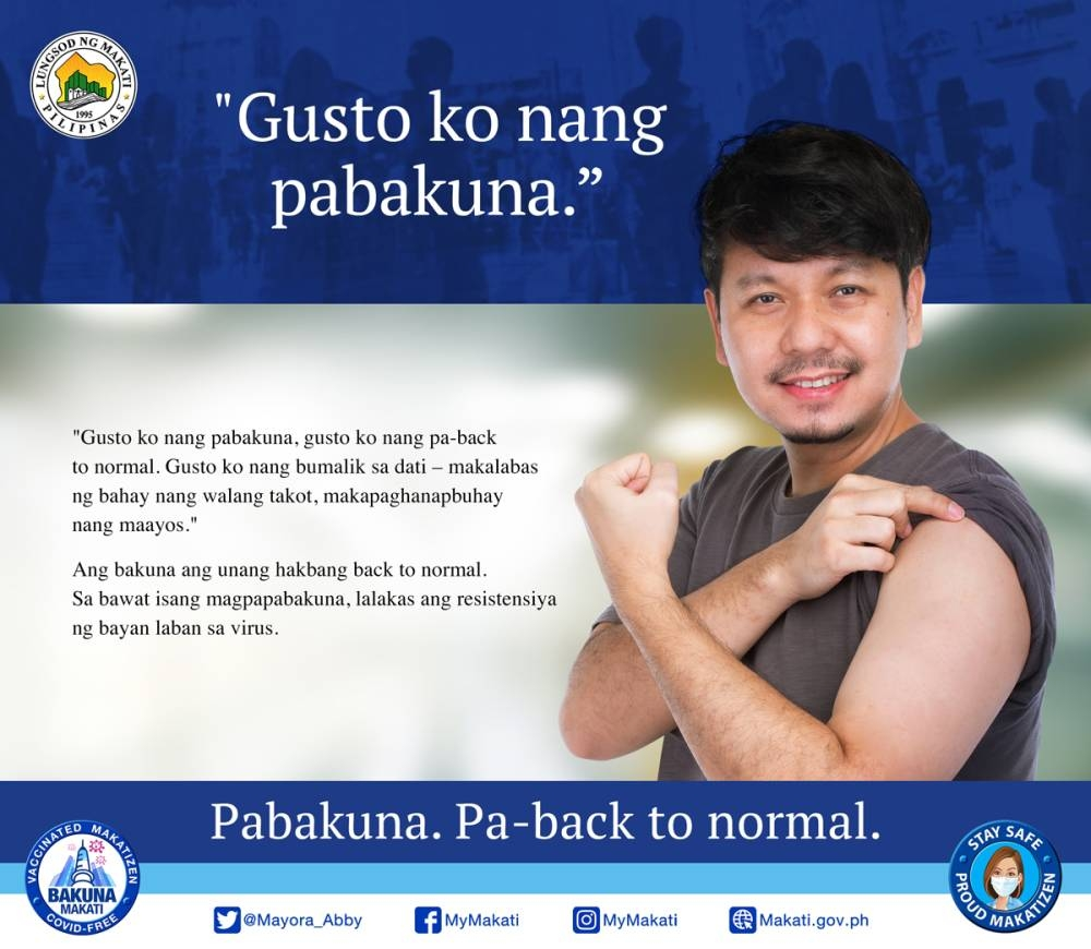 Stay safe, get vaccinated