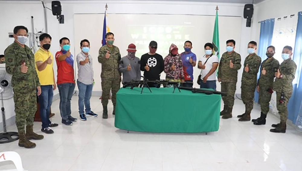 3 BIFF members yield in Maguindanao