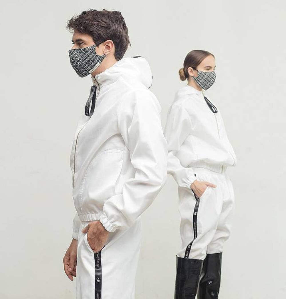 The Armor Project is Mark Bumgarner's version of PPE consisting of coveralls, fullsuits and jackets.  INSTGRAM PHOTO / MARKBUMGARNER