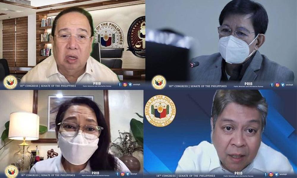 Larawan mula sa Opisyal na Facebook Account ng Senado ng Pilipinas