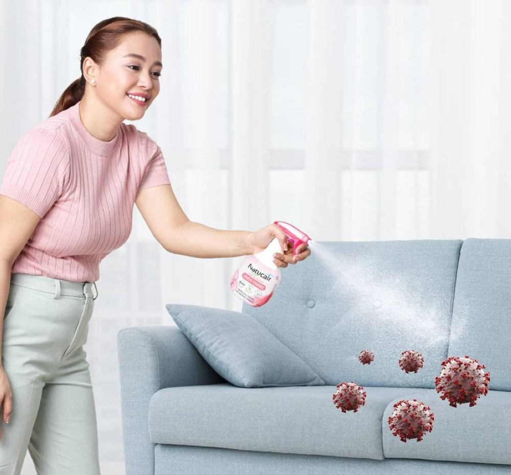 One potential point of virus transmission which should not be taken for granted is any fabric in the home.