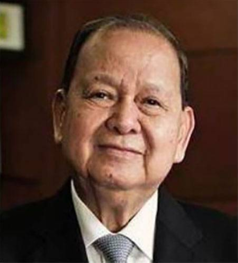 Ambassador Carlos Chan, chairman of the Liwayway Group, is the Man of the Year 2021 of the Management Association of the Philippines. PHOTO FROM MAP