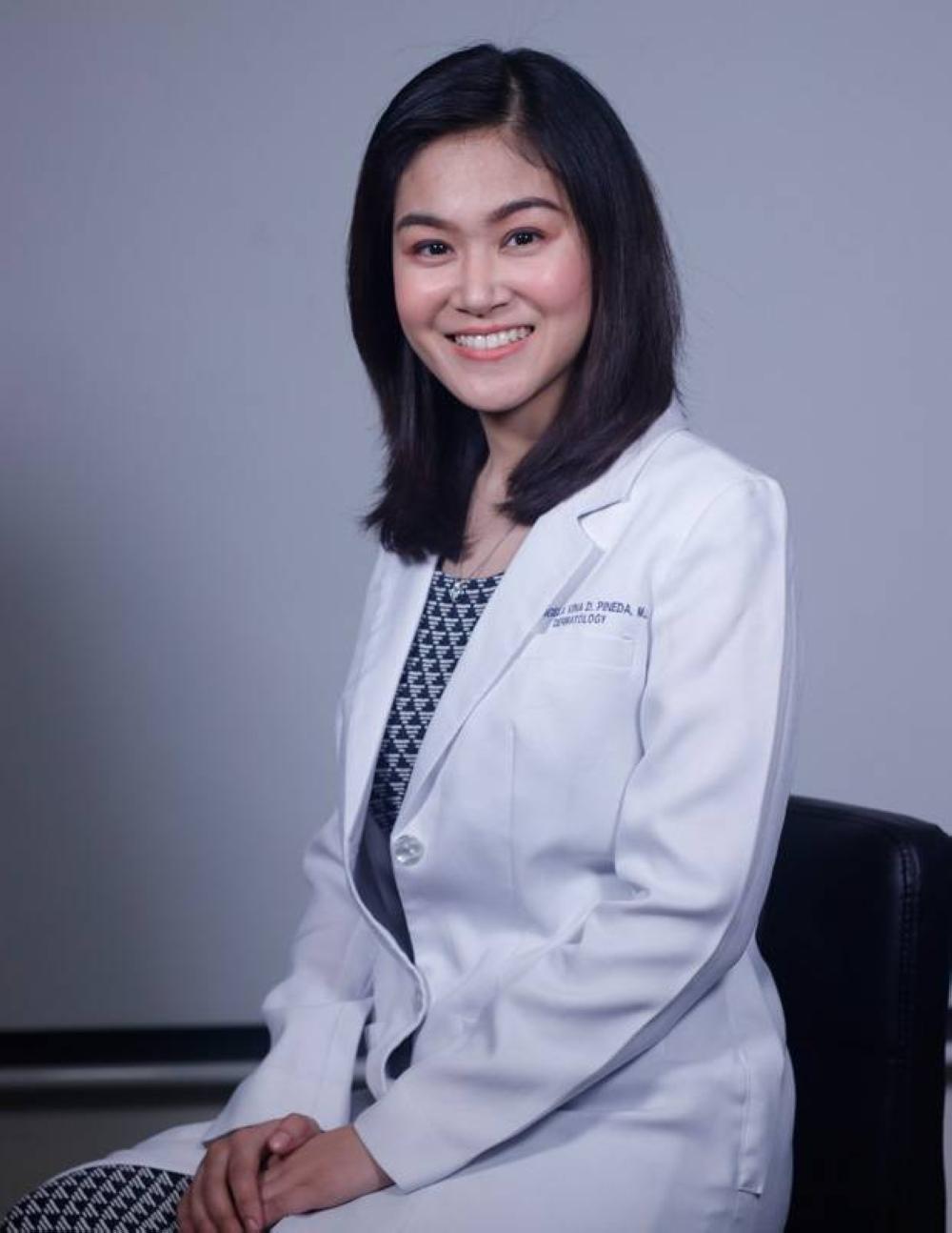 DR. MA. ANGELA VINA D. PINEDA Executive Vice President Dermclinic