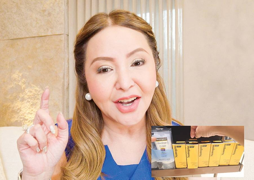 The shopaholic runs through the steps to get her essentials from the comforts of her home via quick call to #143 in a special video now up on Facebook.