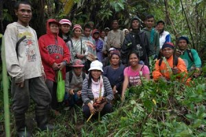 Bantaylasang forest guard volunteers