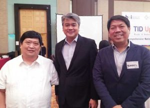EVAP officials together with DTI Sec. Adrian Cristobal